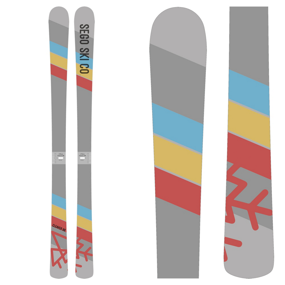 SEGO Skis Cleaver 88 Skis 2019