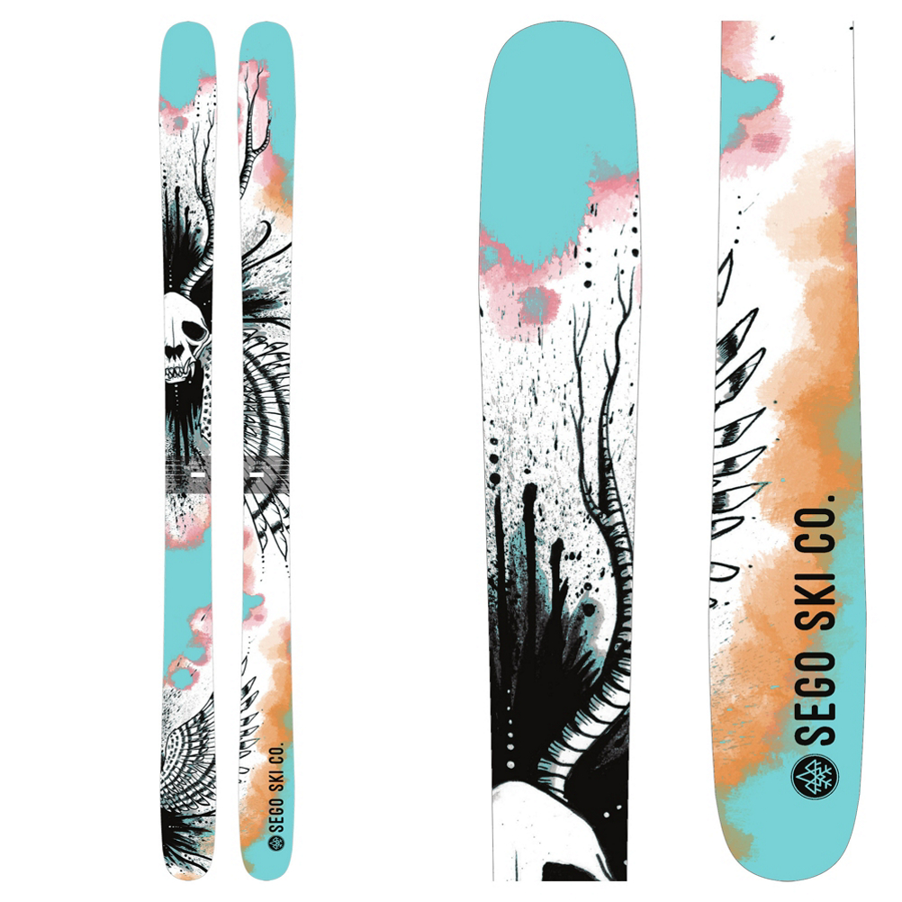 SEGO Skis Big Horn 96 Skis 2019