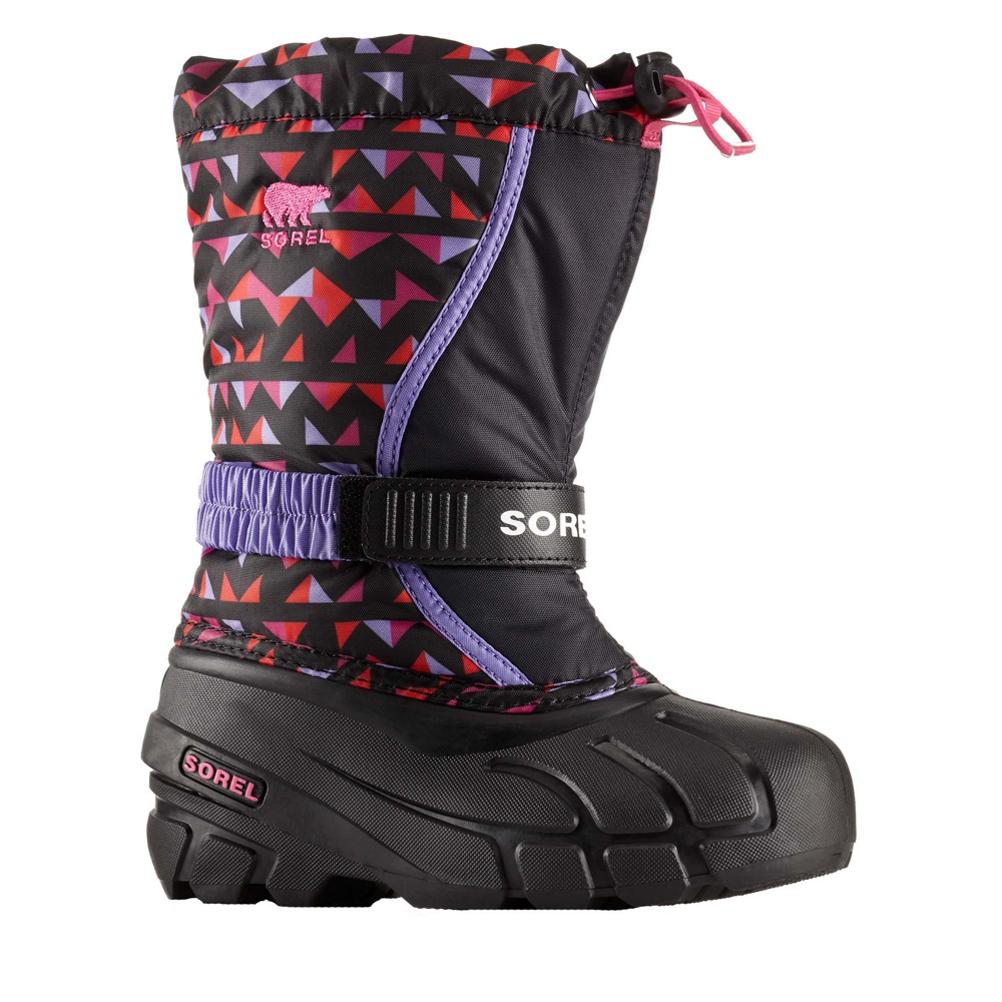 Sorel Flurry Print Girls Boots