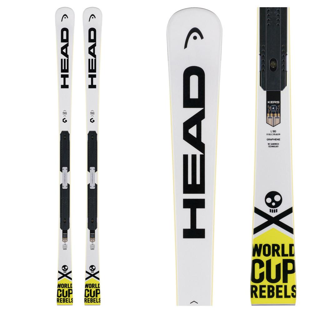 Head WC Rebels i.Speed EP EVO Race Skis 2018