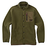 Burton Hearth Snap-Up Fleece Mens Mid Layer