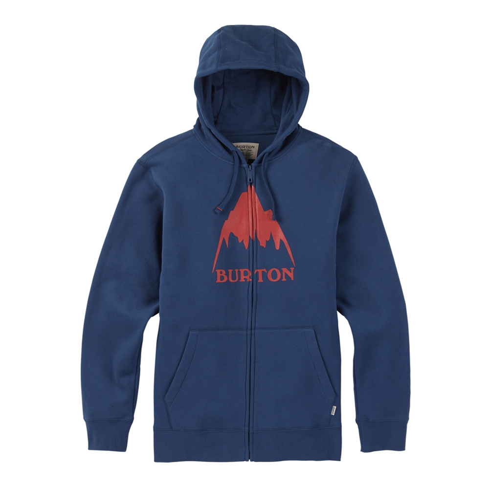 Burton Classic Mountain High Full Zip Mens Hoodie