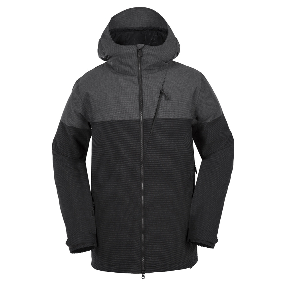 Volcom Ghost Stripe Mens Insulated Snowboard Jacket