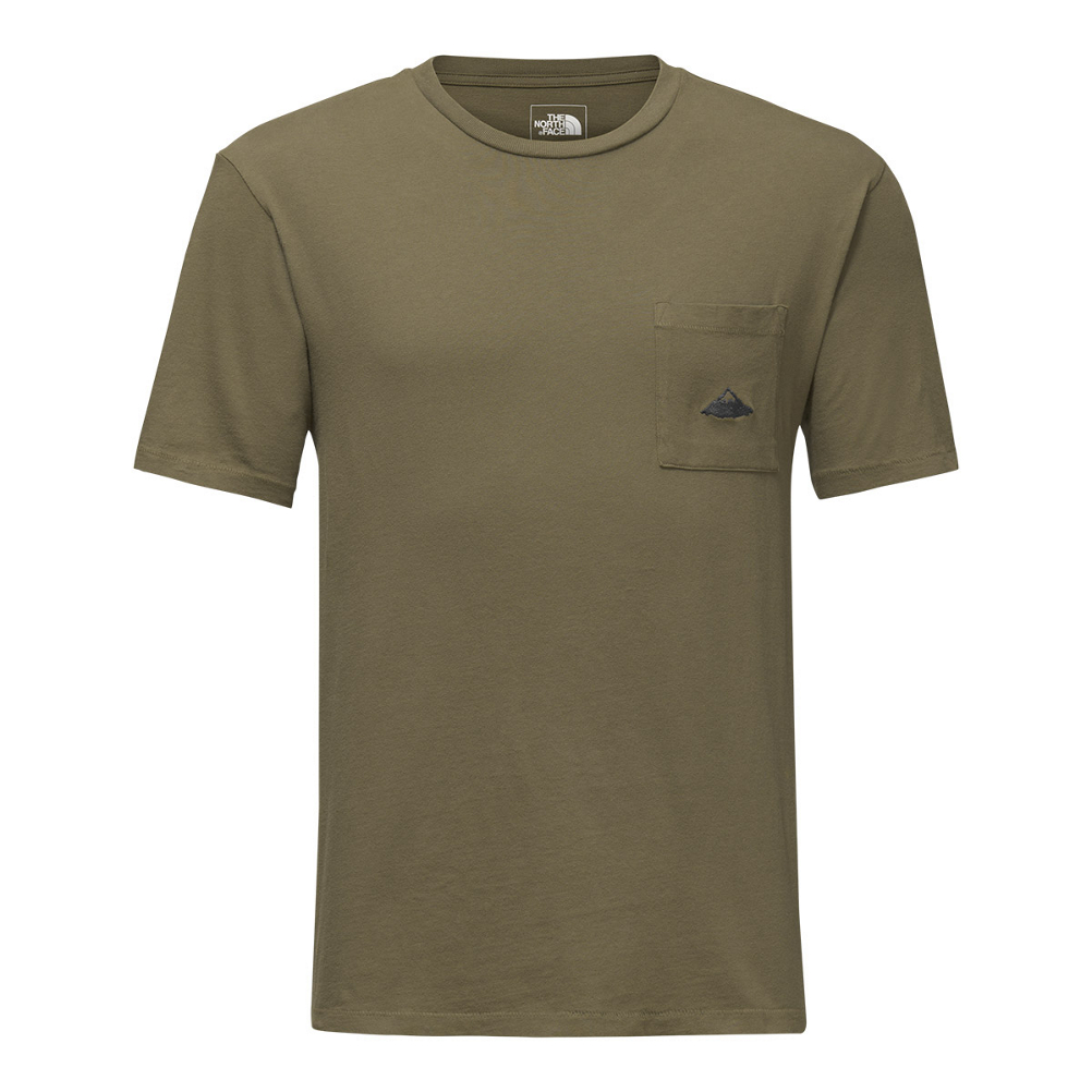 The North Face Mens Well-Loved Pocket Tee (Previous Season)