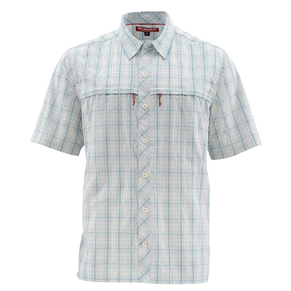 Simms Stone Cold Short Sleeve Mens Shirt
