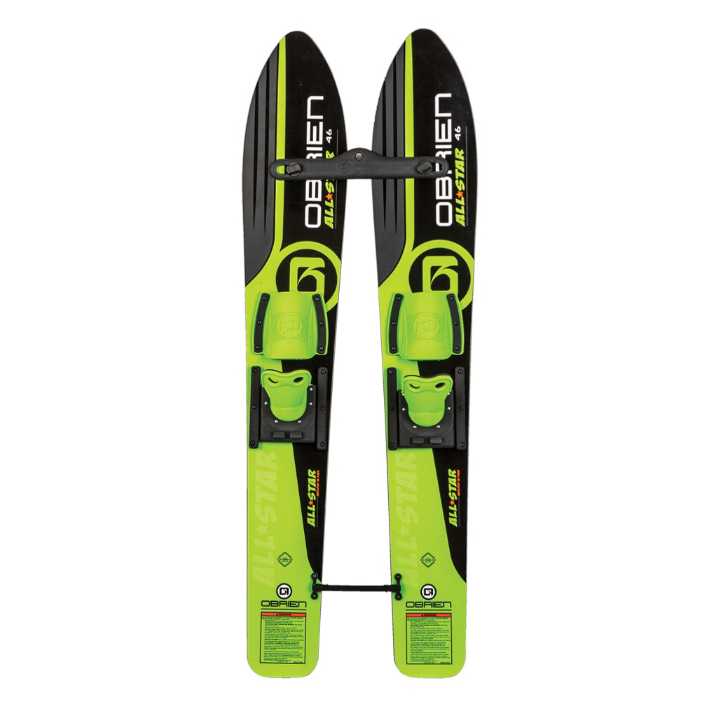 O'Brien All Star Trainers Junior Combo Water Skis With Standard Bindings 2019
