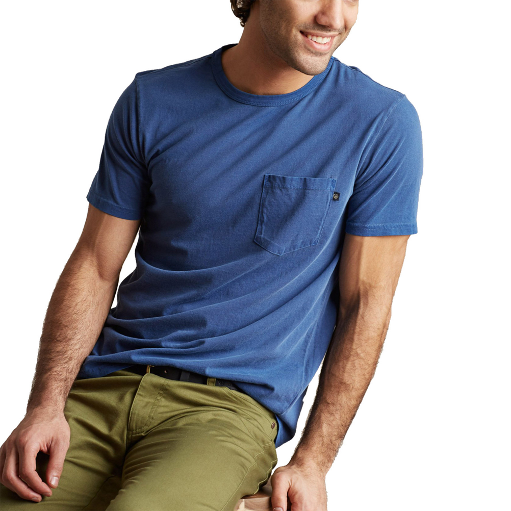 United By Blue Parks Pennant Pocket Tee Mens T-Shirt