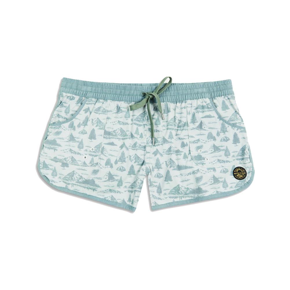 United By Blue Mountain Vista Womens Board Shorts