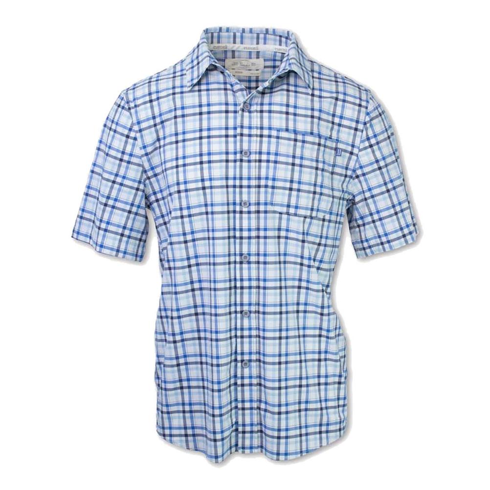 Purnell 4-Way Stretch Quick Dry Checkered Plaid Mens Shirt
