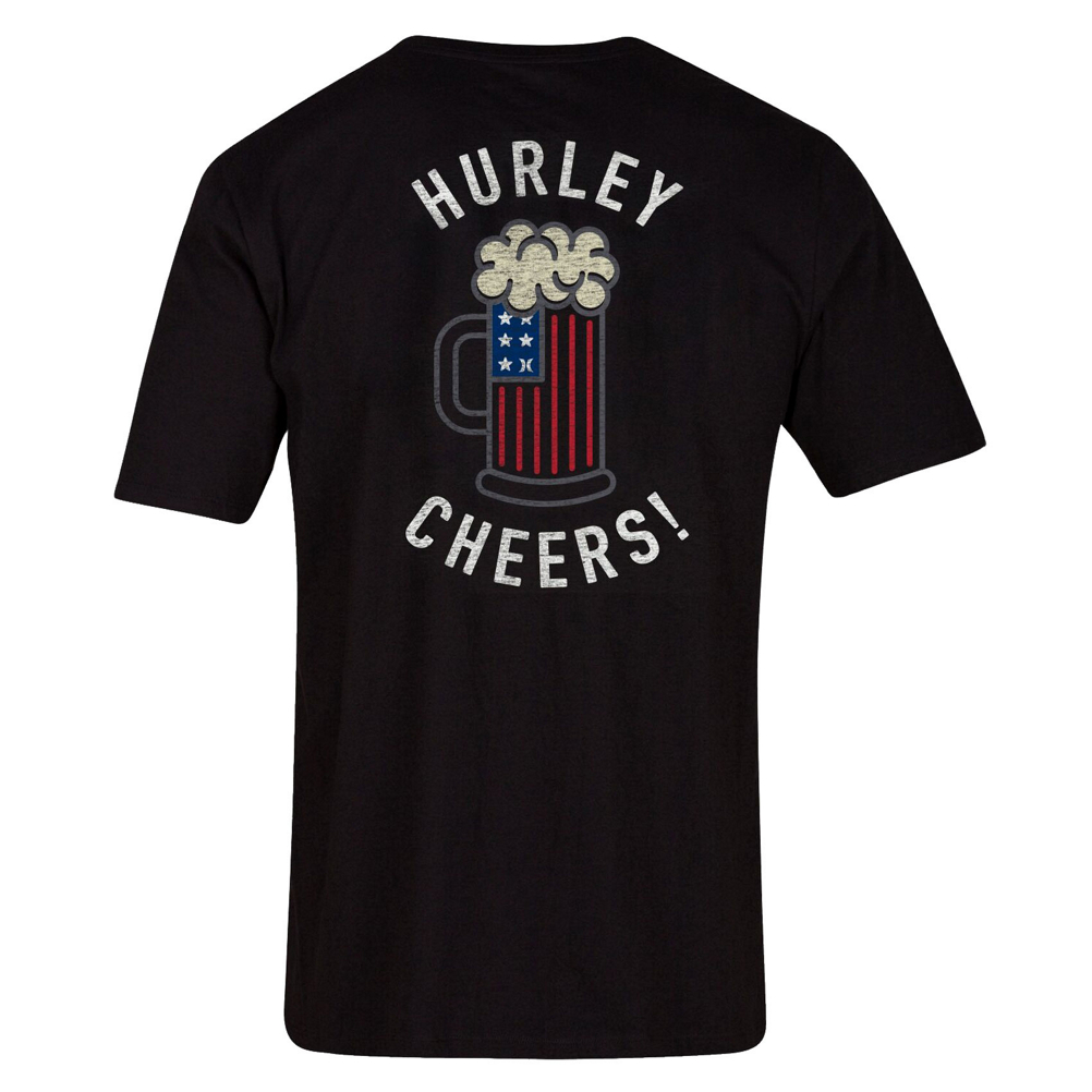 Hurley Cheers Bro Mens T-Shirt