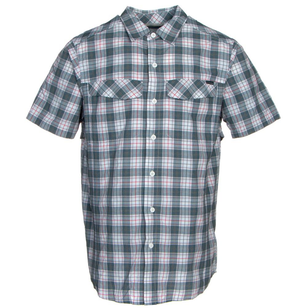 Columbia Silver Ridge Multi Plaid Mens Shirt