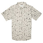 Columbia Pilsner Peak Print Short Sleeve Mens Shirt