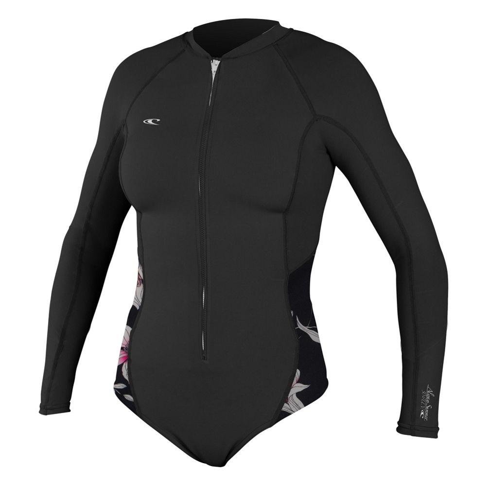 O'Neill Skins Long Sleeve Surf Shirt Womens Rash Guard