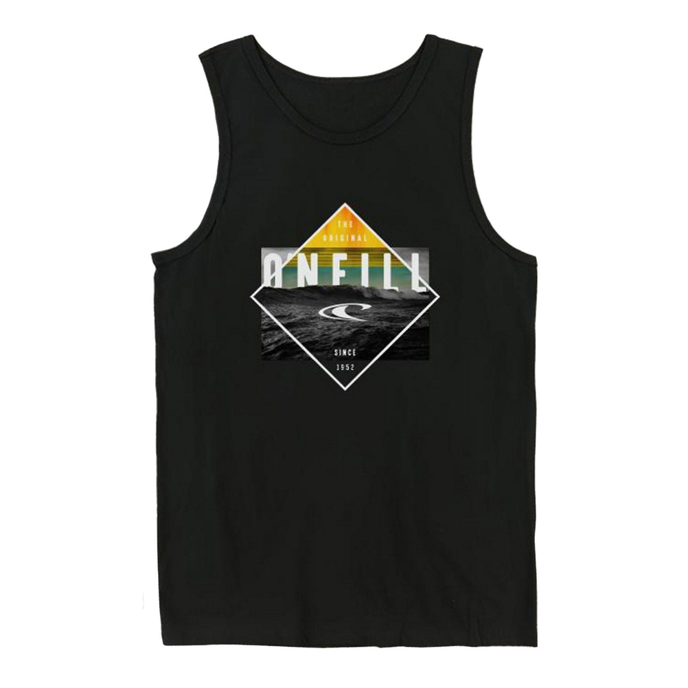 O'Neill Black Pool Kids Tank Top