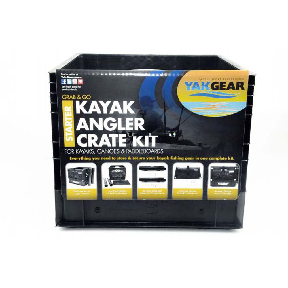 YakGear Grab & Go Kayak Angler Crate Starter Kit 2019