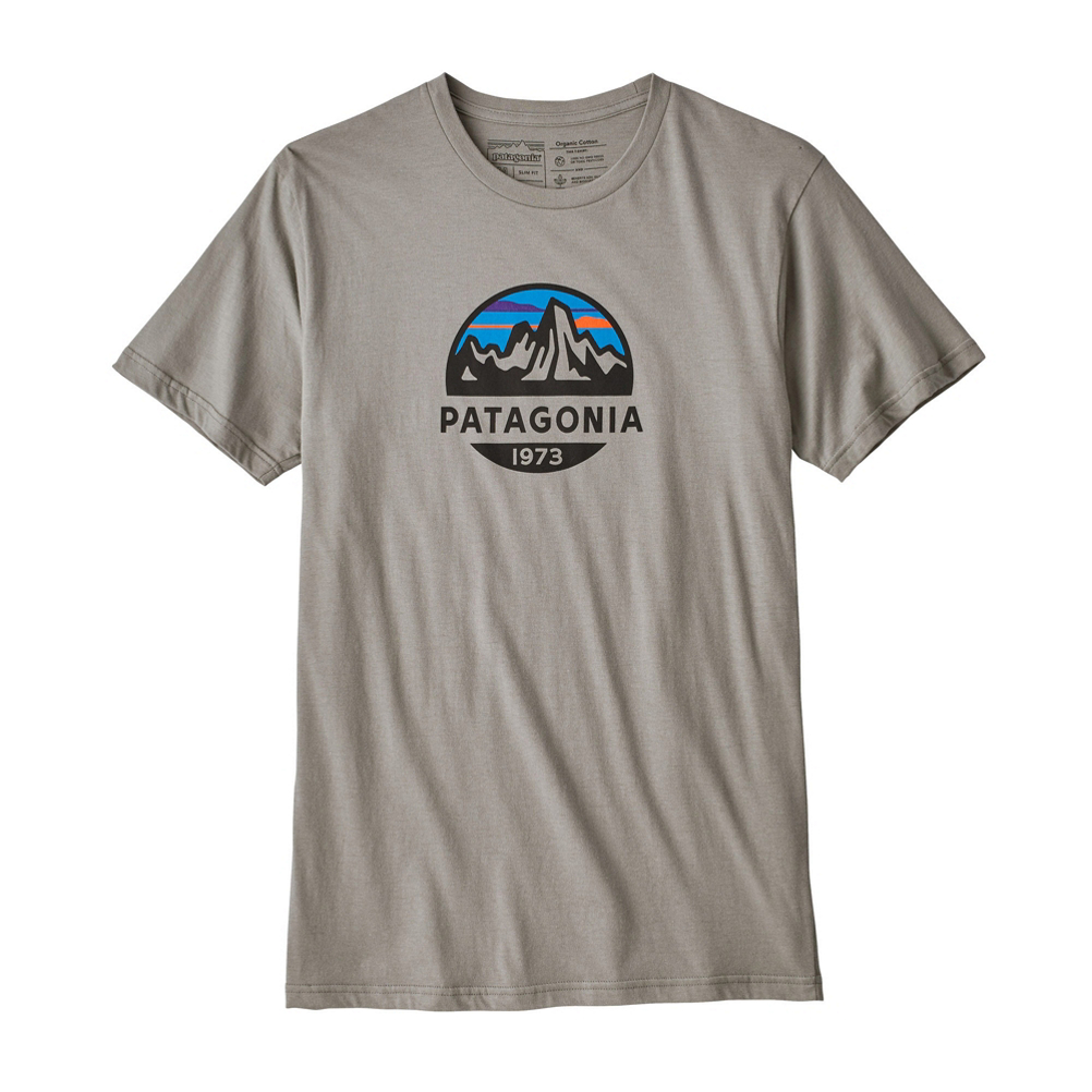 Patagonia Fitz Roy Scope Organic Cotton Mens T-Shirt
