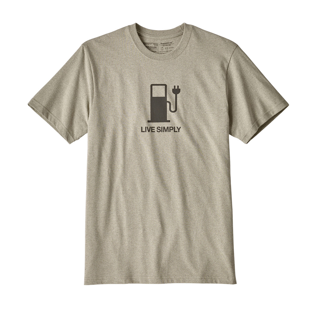 Patagonia Live Simply Power Responsibili-Tee Mens T-Shirt