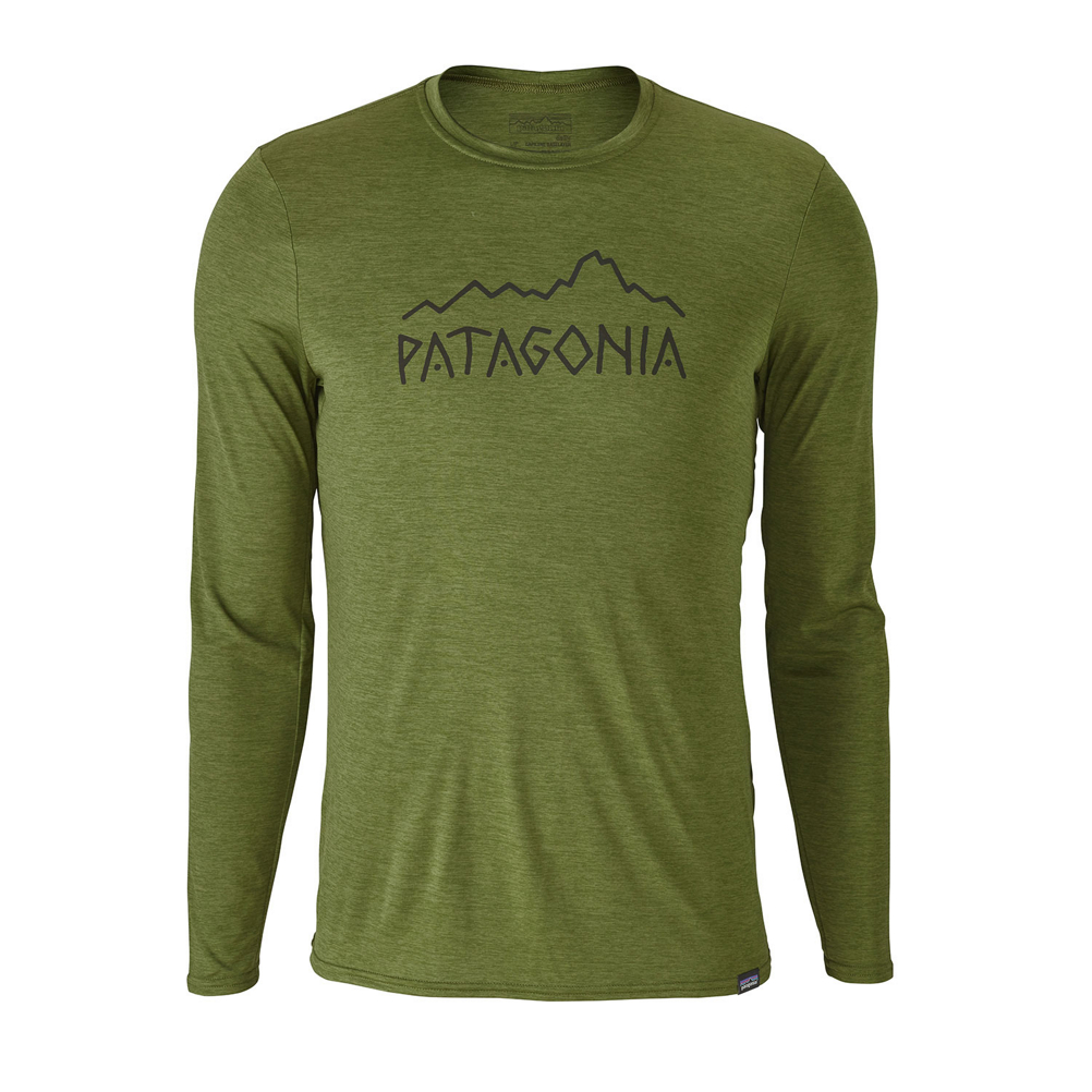 Patagonia Capilene Daily L/S Graphic Mens Shirt