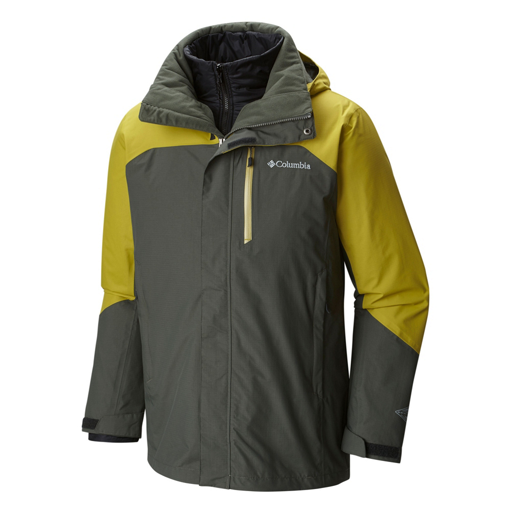 Columbia Lhotse II Interchange Tall Mens Insulated Ski Jacket