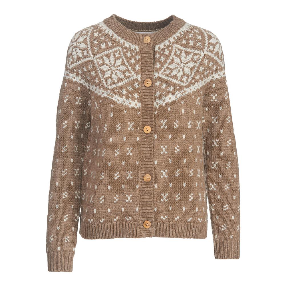 Woolrich Snowfall Valley Cardigan Womens Sweater