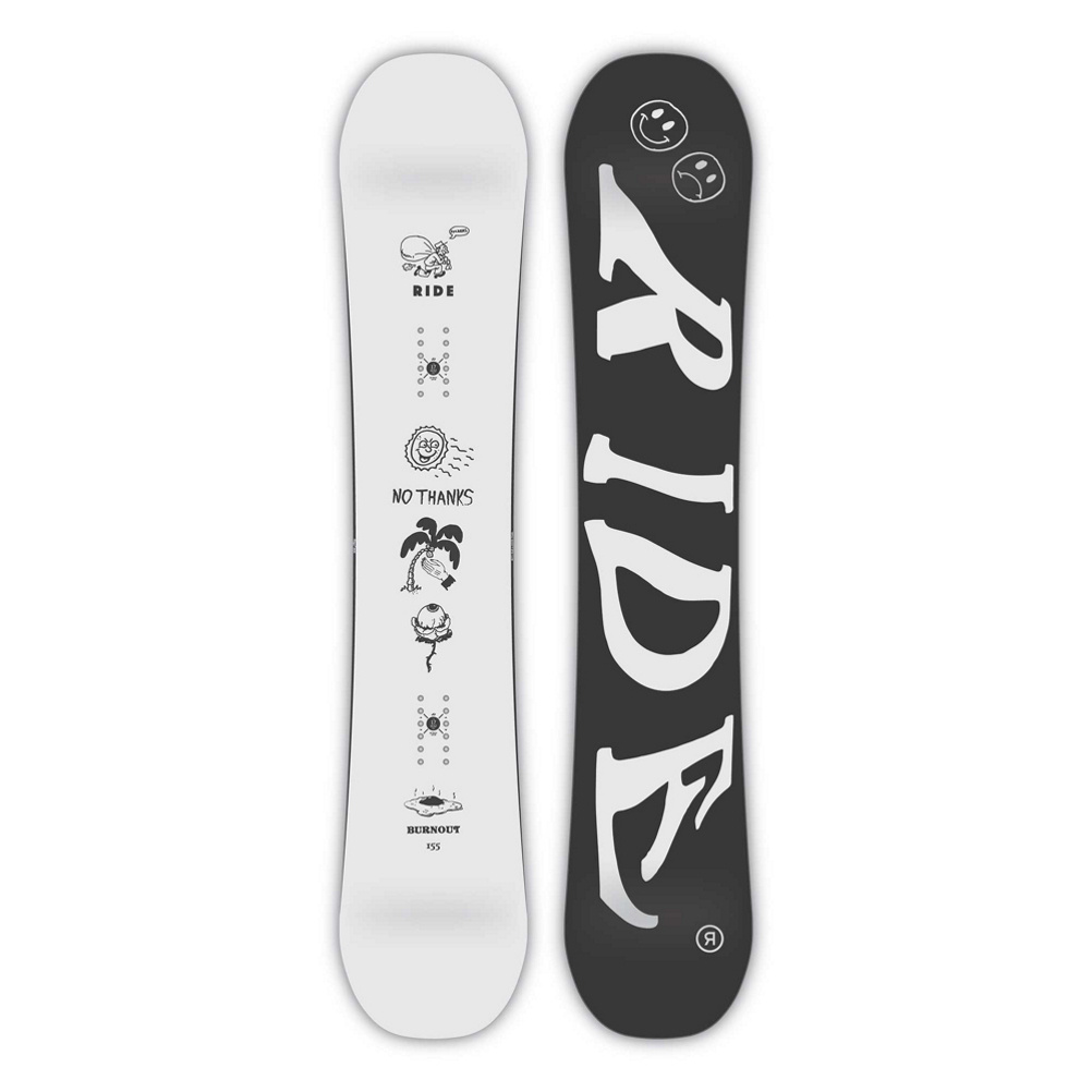 Ride Burnout Wide Snowboard 2019