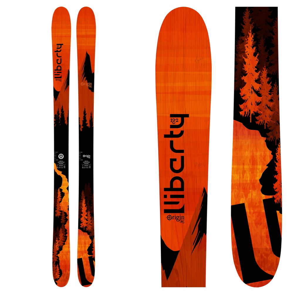 Liberty Skis Origin 96 Skis 2019
