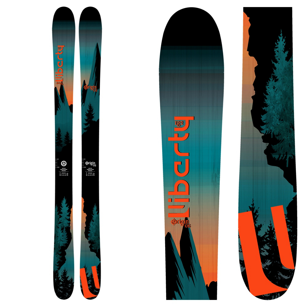 Liberty Skis Origin 106 Skis 2019