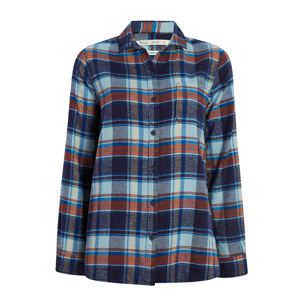 Woolrich Eco Rich Pemberton BF Flannel Shirt