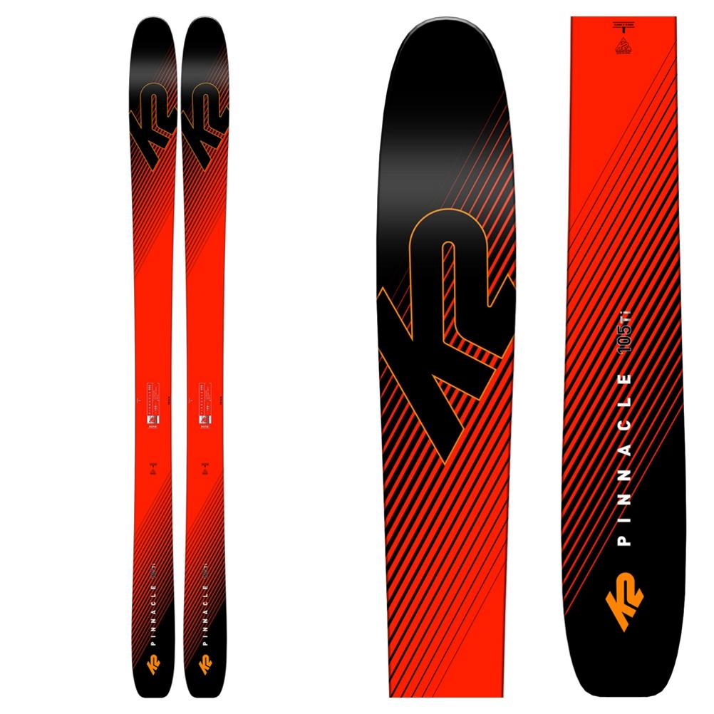 K2 Pinnacle 105 Ti Skis 2019
