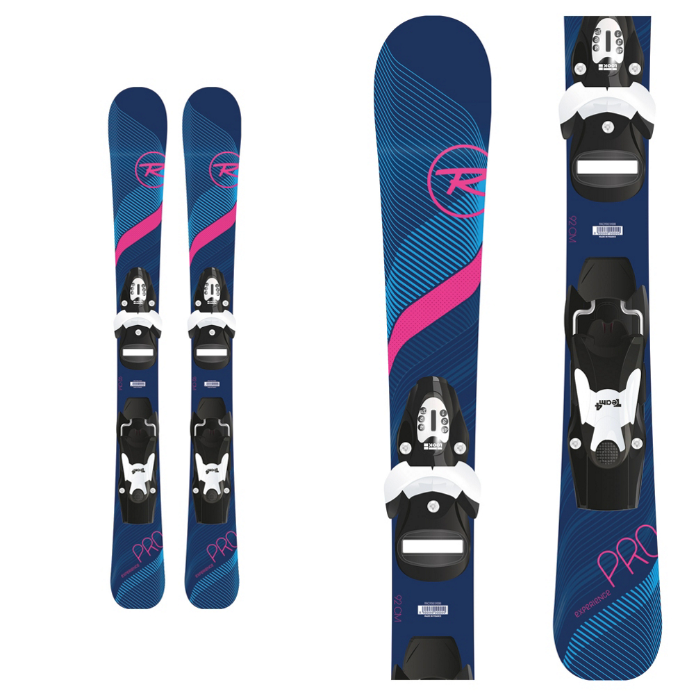 Rossignol Experience Pro W Kids Skis with Team 4 Bindings 2019