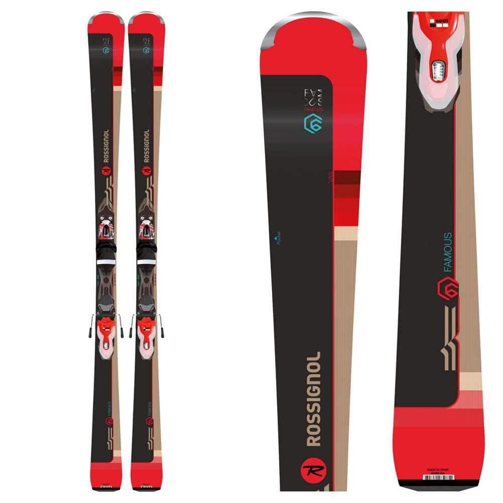 Rossignol Famous 6 Womens Skis with Xpress 11 Bindings 2019