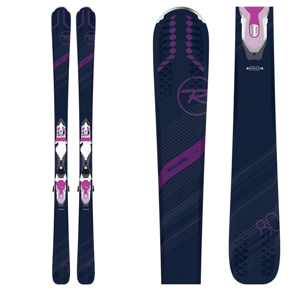 Rossignol Experience 80 CI W Womens Skis with Xpress 11 Bindings 2019
