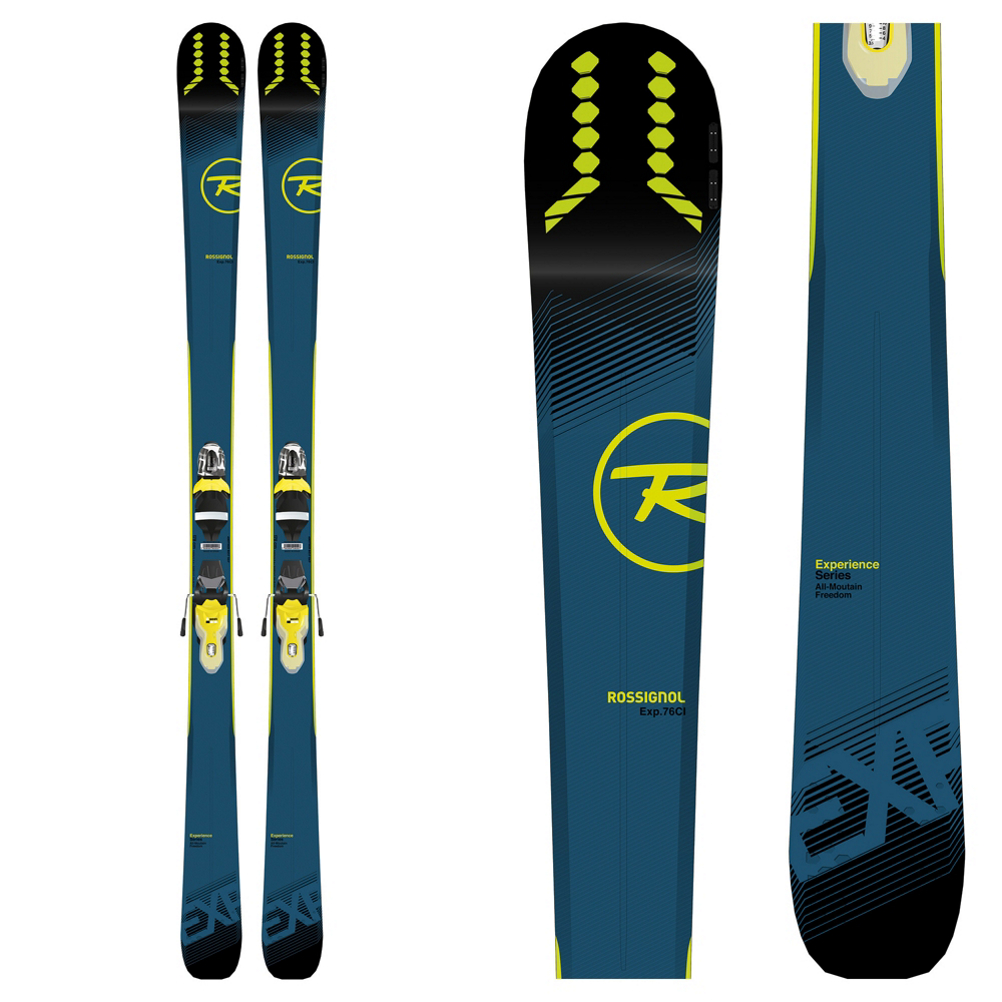 Rossignol Experience 76 CI Skis with Xpress 11 Bindings 2019