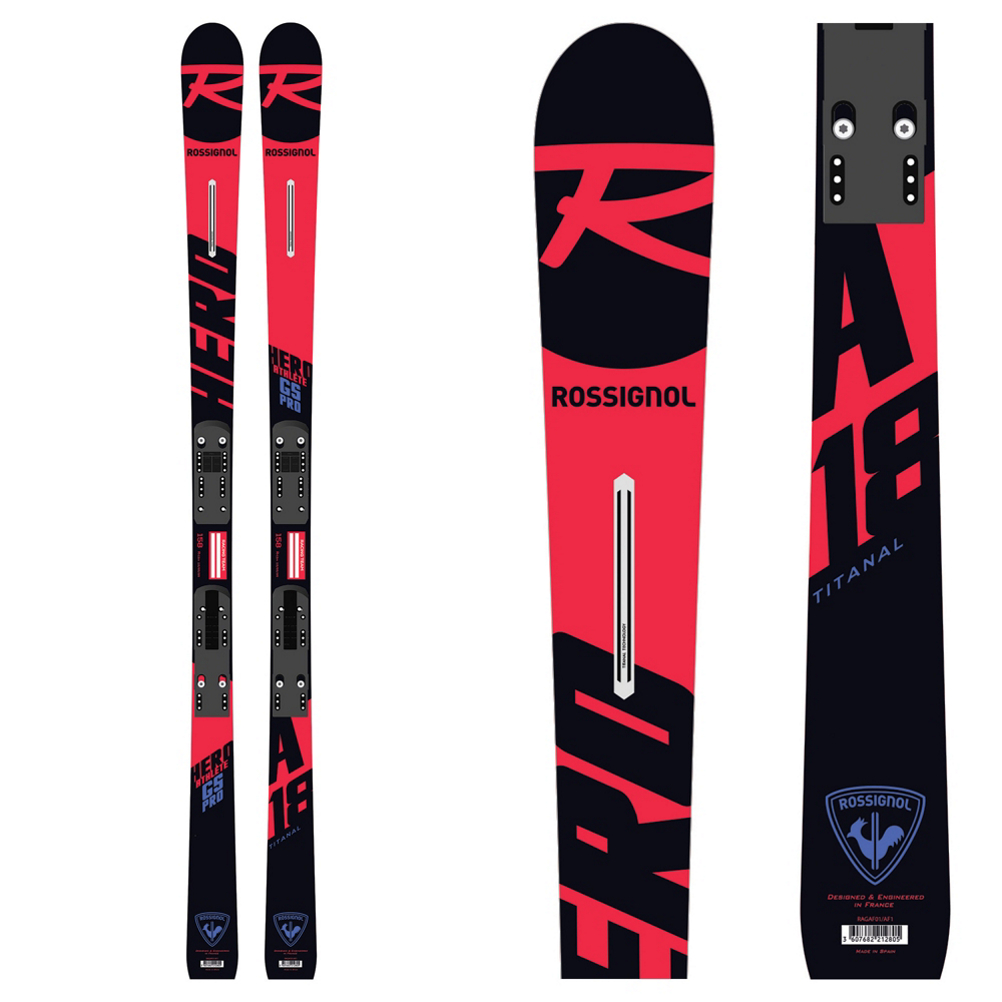 Rossignol Hero GS Pro Junior Race Skis 2019
