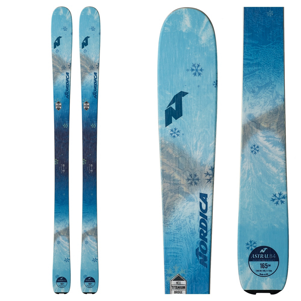Nordica Astral 84 Womens Skis 2019