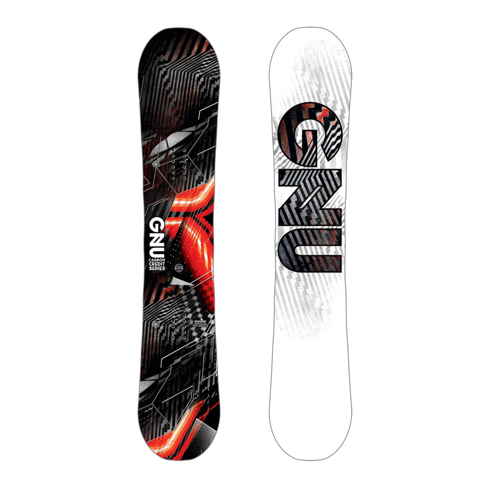 Gnu Carbon Credit Asym BTX Wide Snowboard 2019