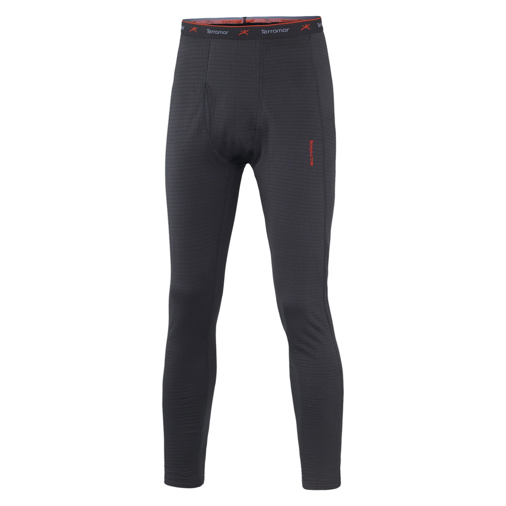 Terramar 3.0 Ecolator Pant with Fly Mens Long Underwear Pants