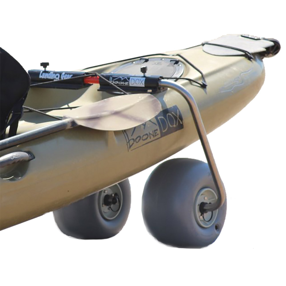 Boonedox Landing Gear with Sand Tires Kayak Cart 2019