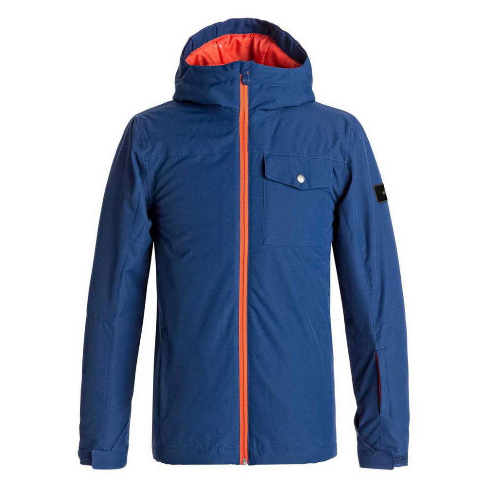 Quiksilver Mission Solid Boys Snowboard Jacket