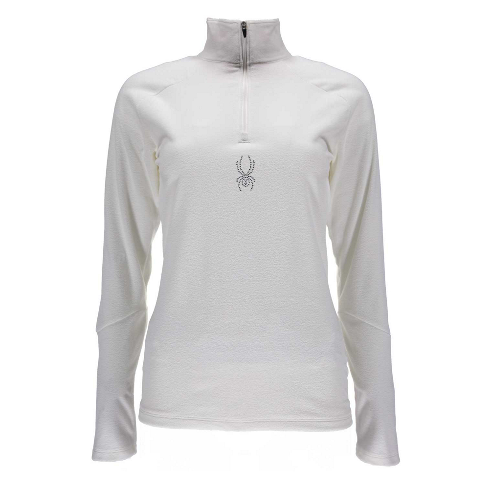 Spyder Shimmer T-Neck Womens Mid Layer