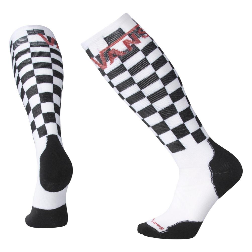 SmartWool PhD Slopestyle Medium Vans Checkerboard Snowboard Socks