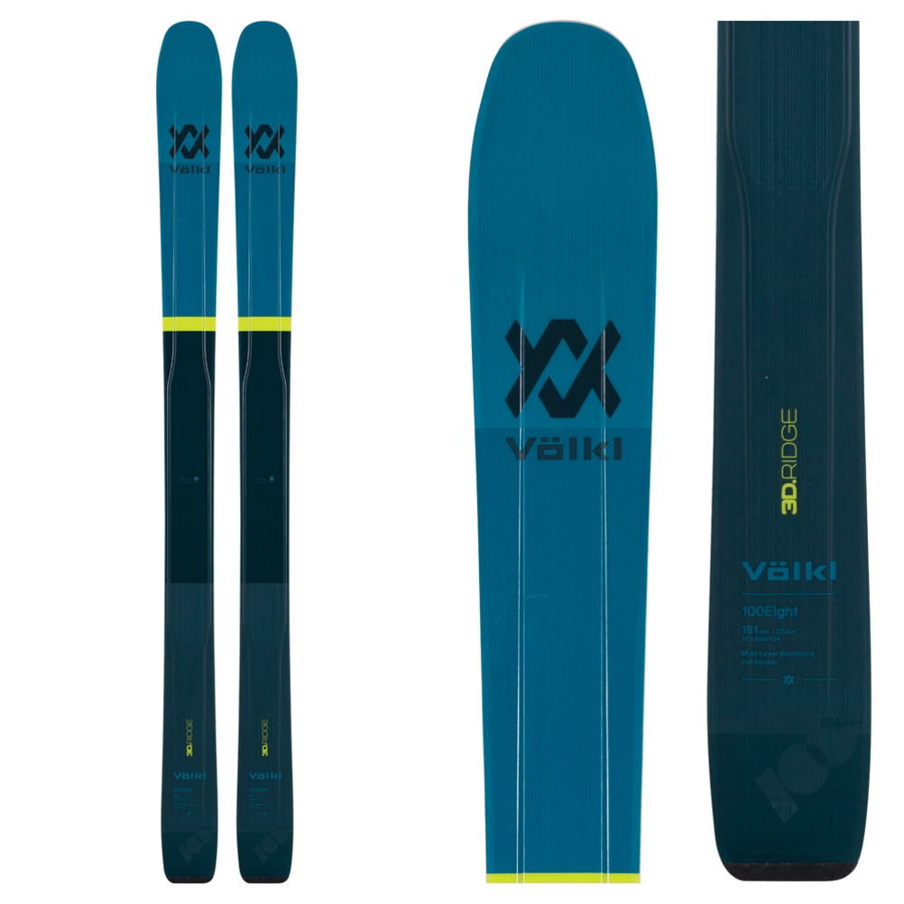 Volkl 100Eight Skis 2019