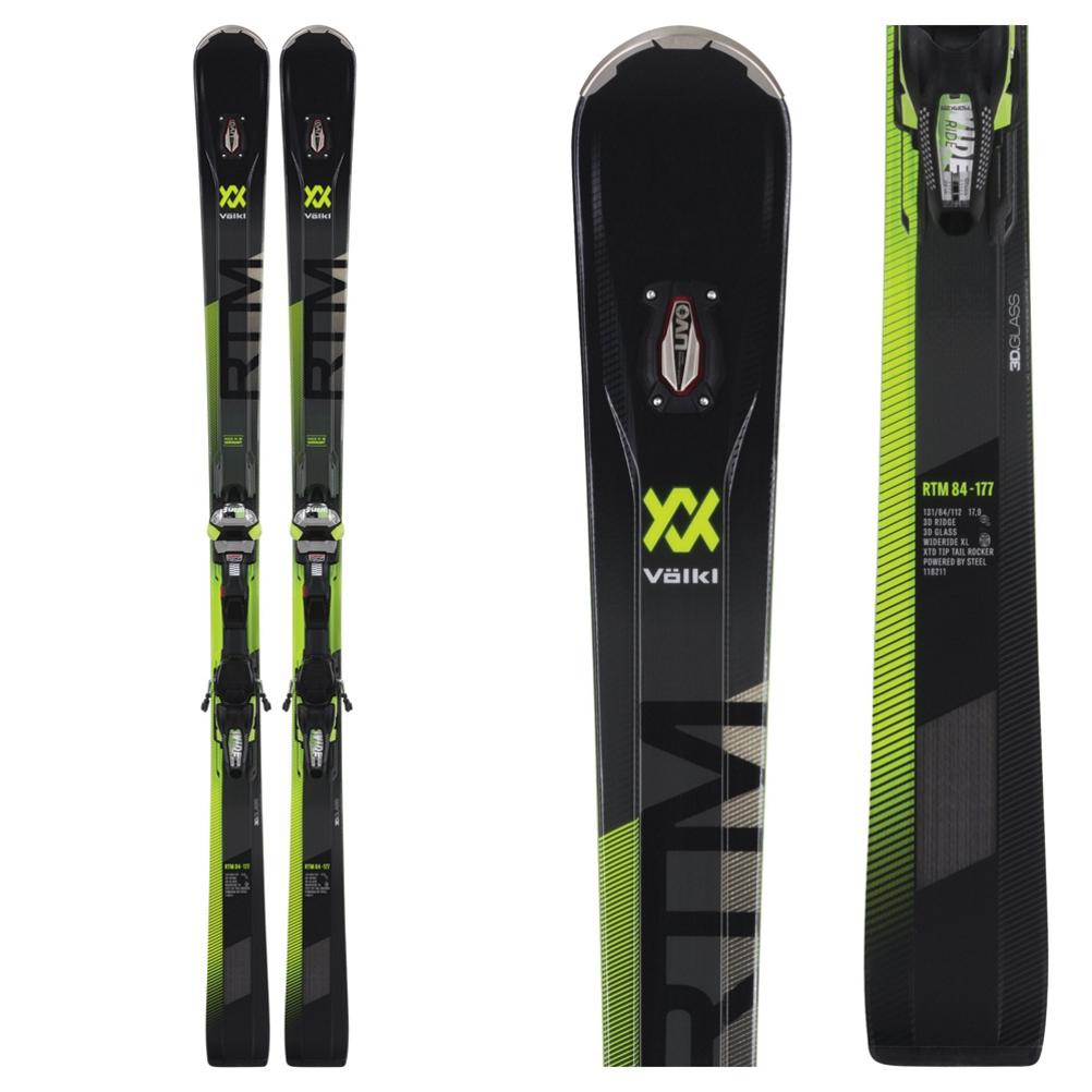 Volkl RTM 84 Skis with IPT WR XL Bindings 2019
