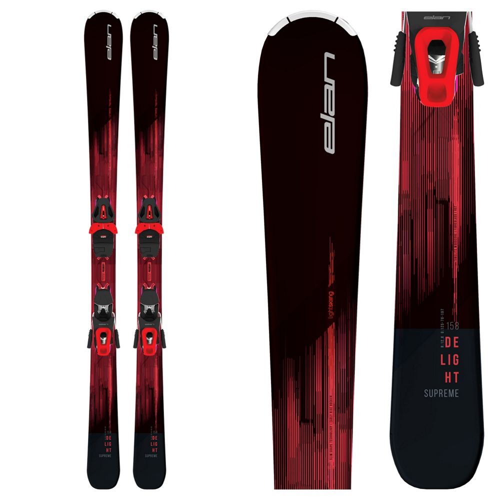 Elan Delight Supreme Womens Skis with ELW 10 GW Bindings 2019