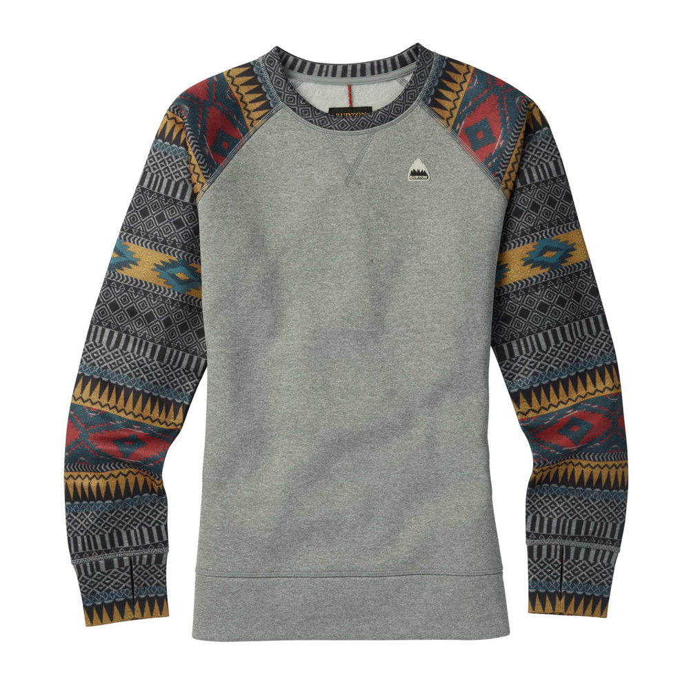 Burton Oak Crew Womens Sweatshirt
