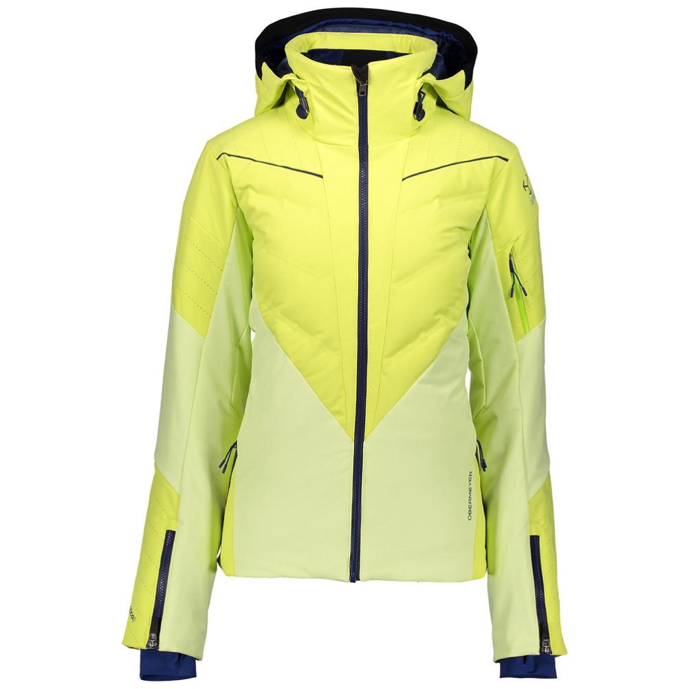 Obermeyer Razia Down Hybrid Womens Insulated Ski Jacket