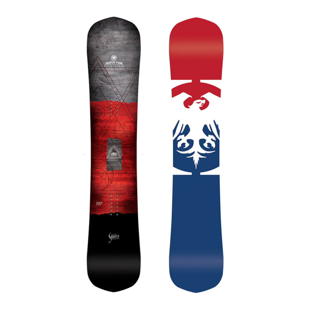 Never Summer Shaper Twin Snowboard 2019