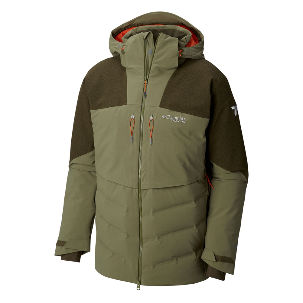 Columbia Powder Keg II Down Mens Insulated Ski Jacket