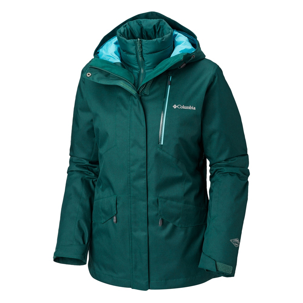 Columbia Emerald Lake Interchange Womens Insulated Ski Jacket