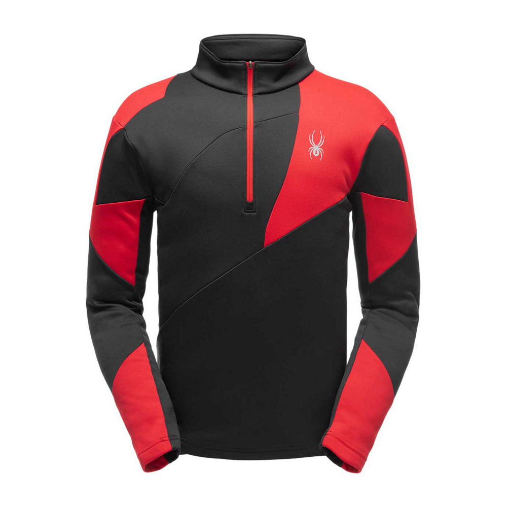 Spyder Orion Zip T-Neck Mens Mid Layer